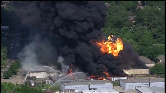 "<div class=""meta image-caption""><div class=""origin-logo origin-image ktrk""><span>KTRK</span></div><span class=""caption-text"">Aerial images over a massive industrial fire in Spring Branch (KTRK)</span></div>"