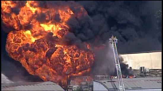 <div class='meta'><div class='origin-logo' data-origin='KTRK'></div><span class='caption-text' data-credit='KTRK'>Explosions seen at a Spring Branch warehouse complex where a four-alarm fire ripped through the structure</span></div>