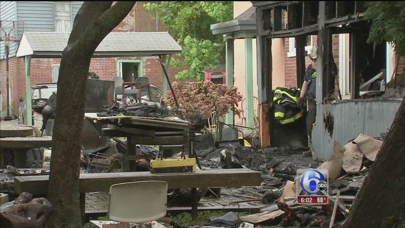 VIDEO: Norristown fire