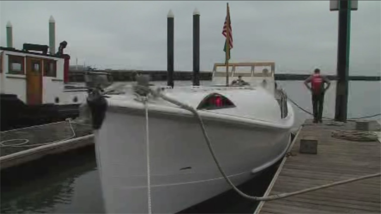 """This boat, Motor Lifeboat 36542, ws used in Hollywood films like """"The Finest Hours."""""""