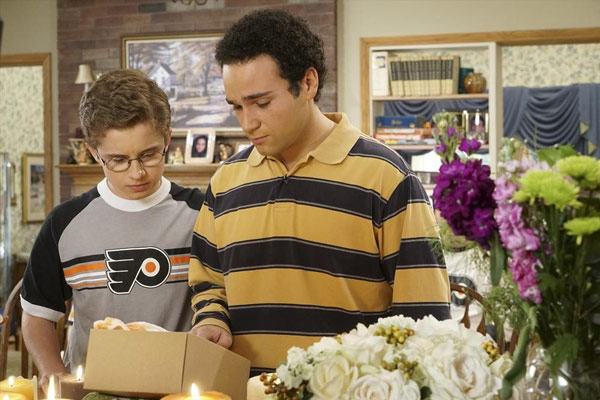 "<div class=""meta image-caption""><div class=""origin-logo origin-image none""><span>none</span></div><span class=""caption-text"">'The Goldbergs' dedicate the episode 'Big Orange' to late Flyers owner Ed Snider. (ABC/Ron Tom)</span></div>"