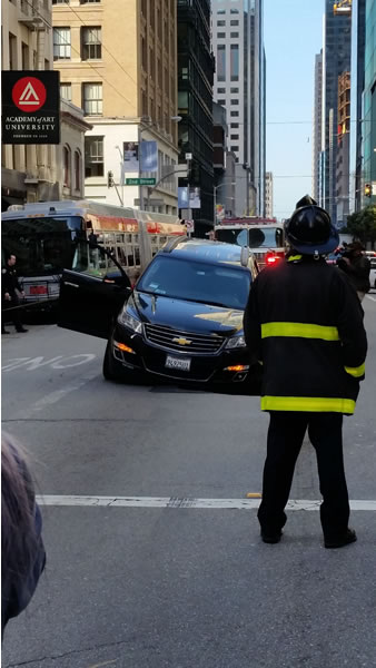 "<div class=""meta image-caption""><div class=""origin-logo origin-image none""><span>none</span></div><span class=""caption-text"">This image shows a car that nearly got trapped inside a sinkhole that opened in downtown San Francisco on May 10, 2016. (Photo submitted to KGO-TV by Michael and Samantha Tong)</span></div>"