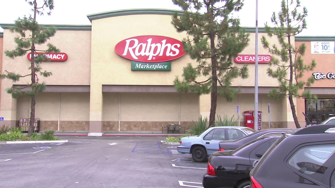 A Ralphs grocery store is shown in an undated stock image.
