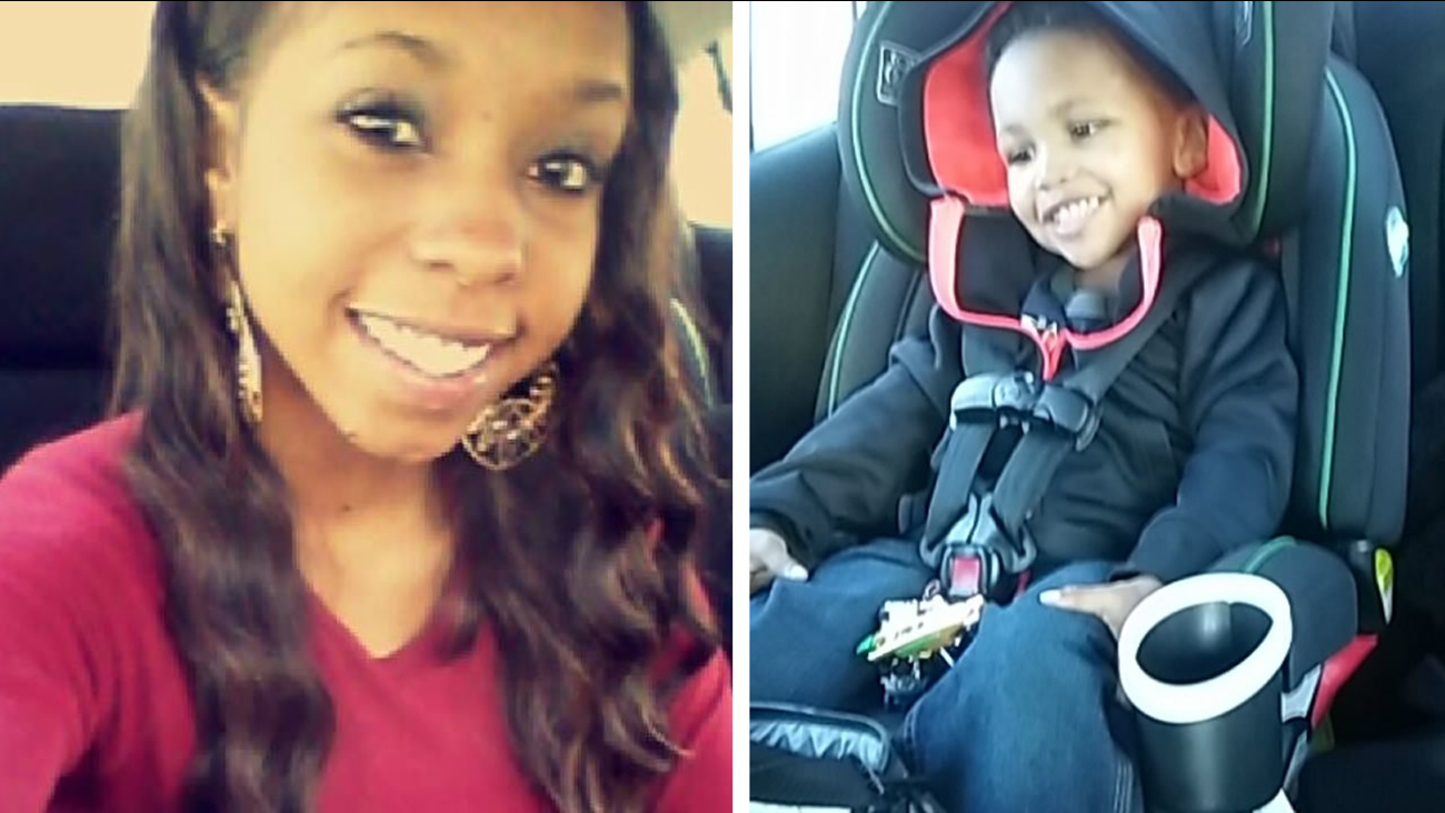 Candace Elaine Pickens and her son Zachaeus Latese Waters
