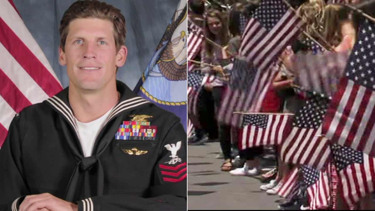 Charles Keating IV, left, who was killed in Iraq during a gunbattle with ISIS fighters, was remembered in Coronado on Friday, May 13, 2016.