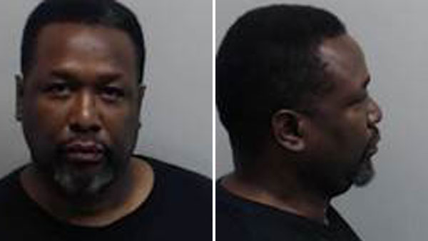 """The Wire"" actor Wendell Pierce is shown in mugshots taken at the Fulton County Jail on Saturday, May 14, 2016."