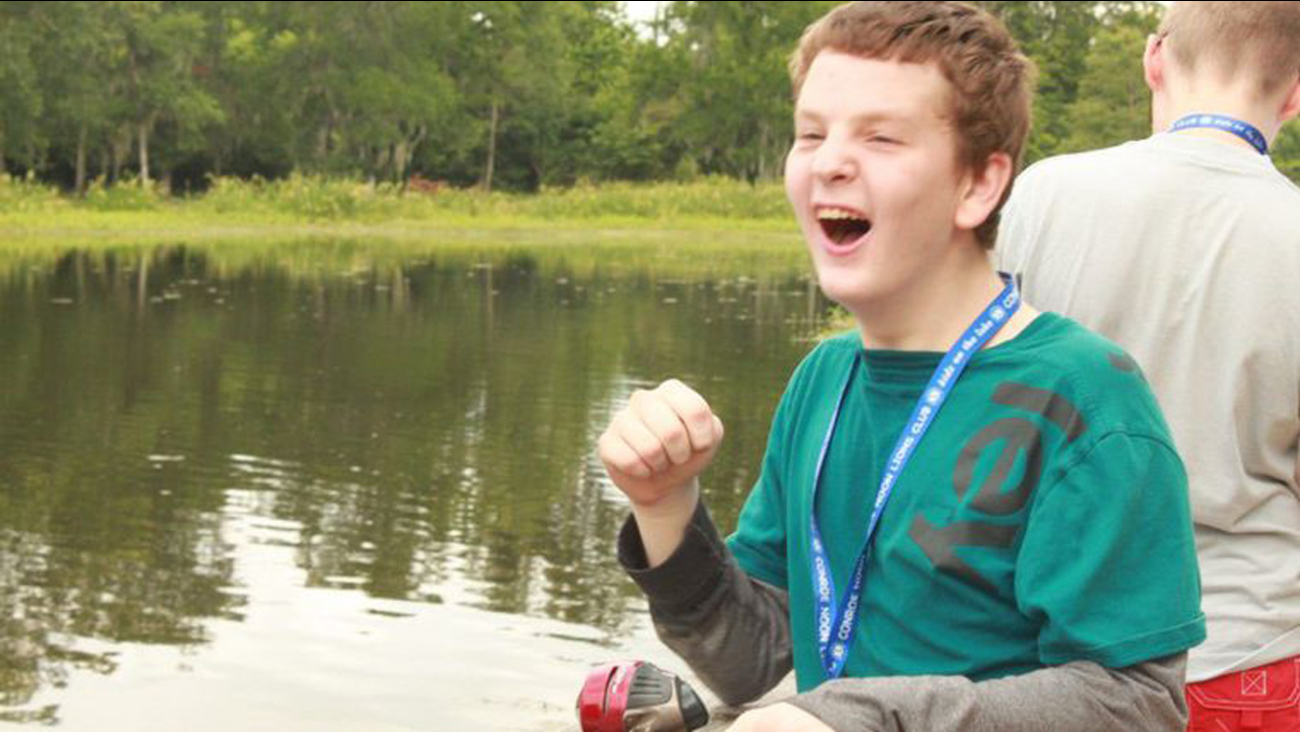 Kids on the lake