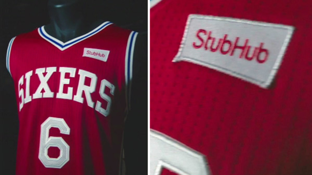 c0abe052fb38 Philadelphia 76ers sell first NBA jersey ad