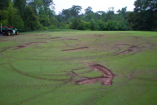 "<div class=""meta image-caption""><div class=""origin-logo origin-image ktrk""><span>KTRK</span></div><span class=""caption-text"">The Golf Club of Houston is asking for help finding two ATV riders they say vandalized the 14th green of Shell Houston Open Course. (Golf Club of Houston)</span></div>"