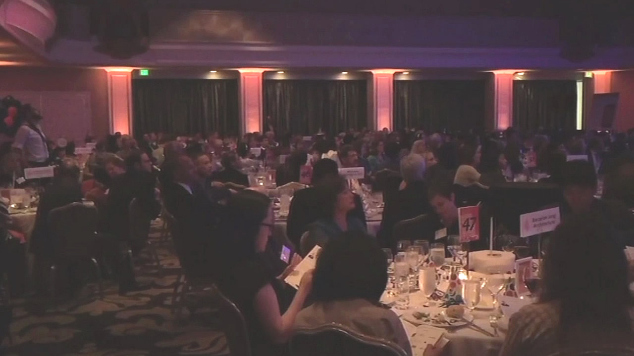 A fundraiser for a San Francisco non-profit that helps low income residents pay for housing was held on Tuesday, May 18, 2016.