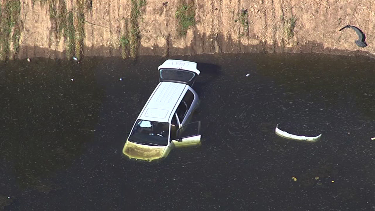 Body found in pond in vehicle in San Jose, Wednesday, May 18, 2016.