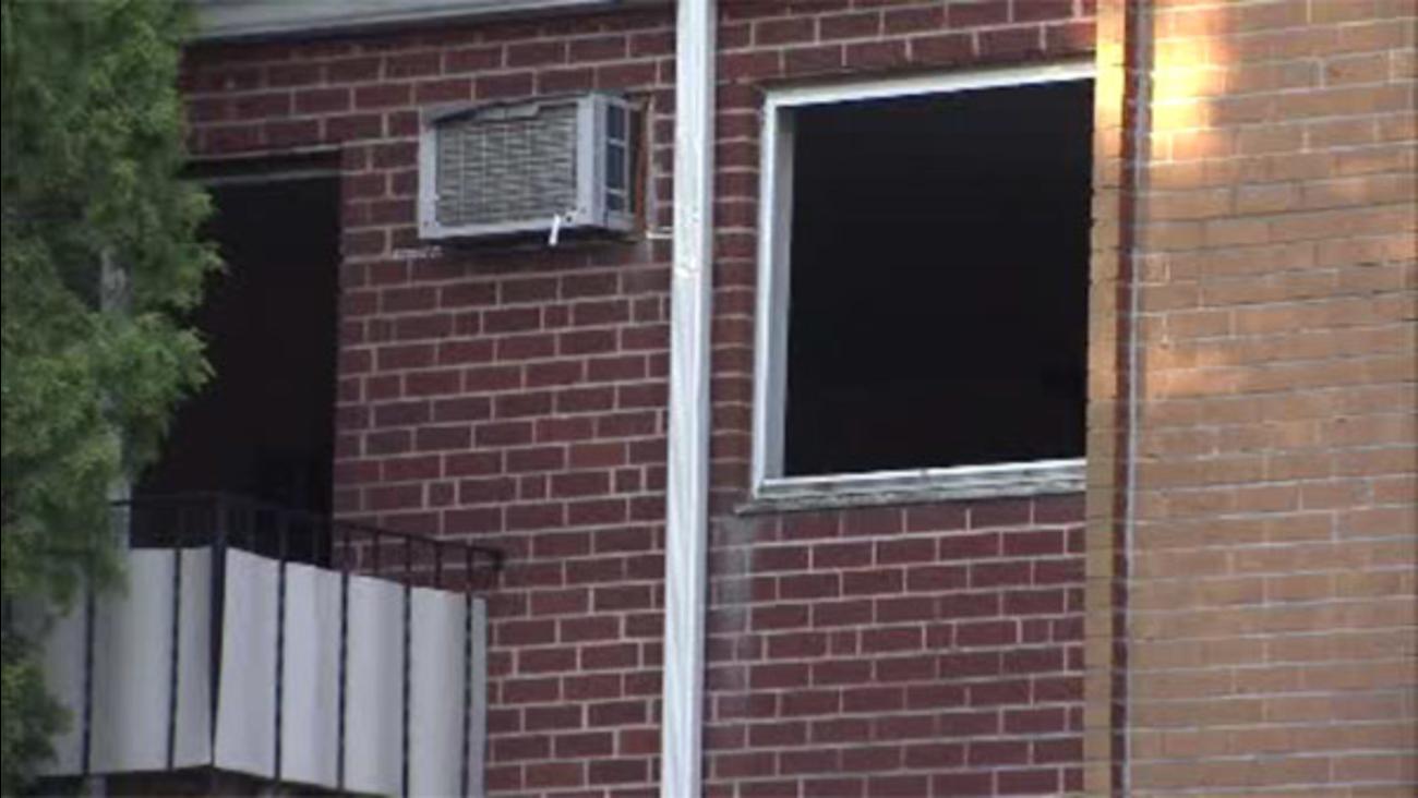 Crews battle apartment blaze in Somerton