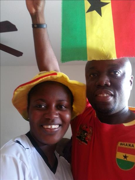 "<div class=""meta image-caption""><div class=""origin-logo origin-image ""><span></span></div><span class=""caption-text"">Ghana fans show team pride.  Keep sending in your World Cup fan photos! (photo submitted by Skelo via uReport)</span></div>"