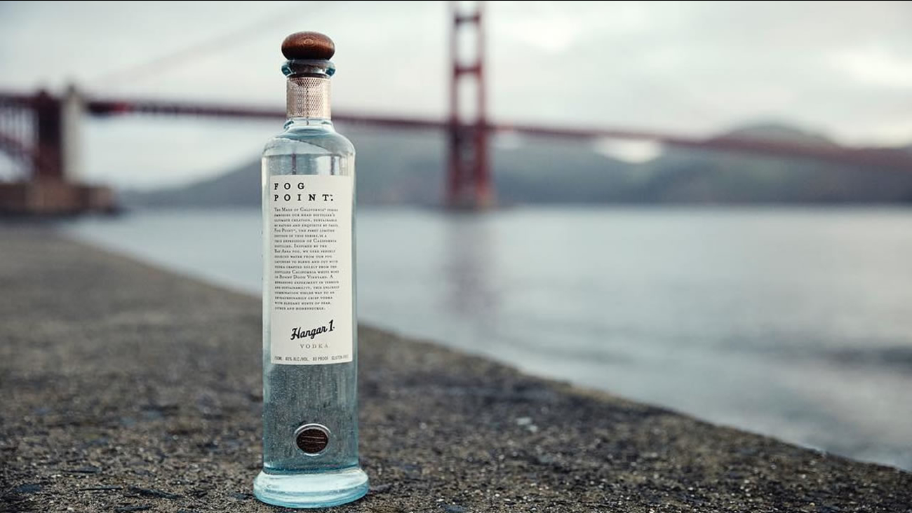 Hangar 1 distillery in Alameda, Calif. has announced a limited edition batch of vodka made with San Francisco fog.