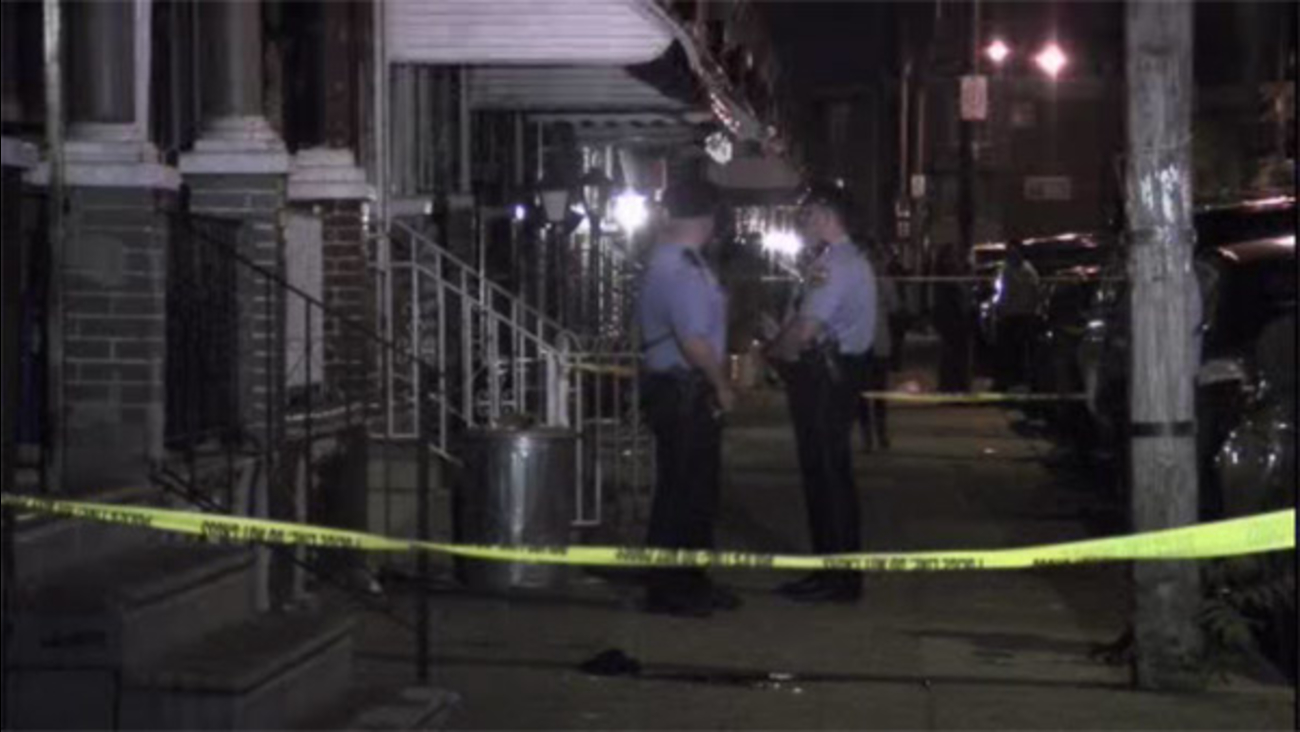 Man shot in front of house in Hunting Park