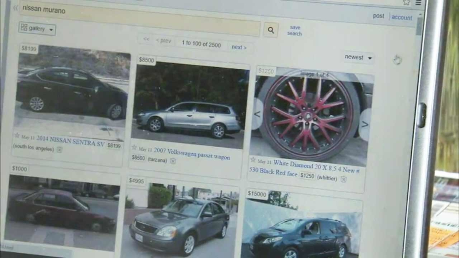 Online Car Scams Luring Unsuspecting Buyers With Rock Bottom Prices Abc7 Los Angeles