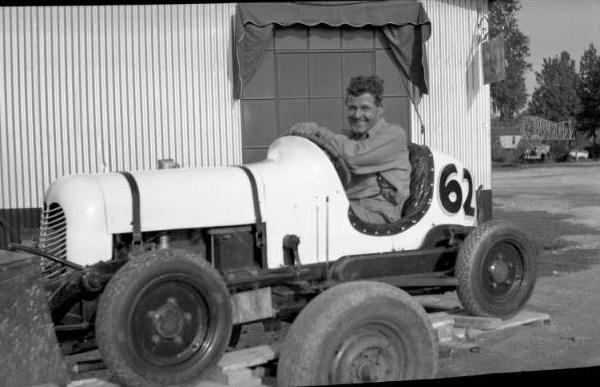 """<div class=""""meta image-caption""""><div class=""""origin-logo origin-image ktrk""""><span>KTRK</span></div><span class=""""caption-text"""">Unidentified man sitting in a midget auto racer at L. L. Walker business sometime in the 1940's. (Houston Public Library)</span></div>"""