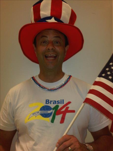 "<div class=""meta image-caption""><div class=""origin-logo origin-image ""><span></span></div><span class=""caption-text"">Alan Wingate is a big fan of USA and Brazil!  Keep sending in your World Cup fan photos! (photo submitted by Kathy Wingate via uReport)</span></div>"