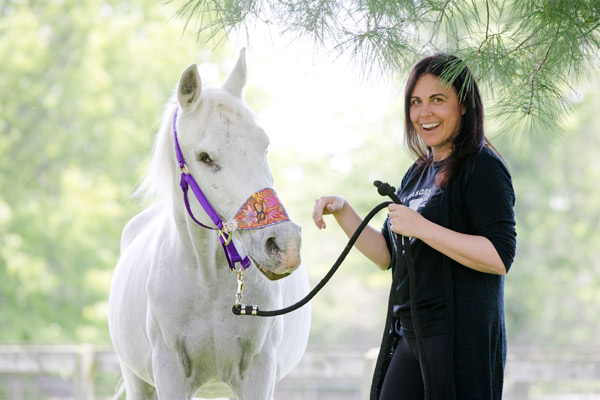 "<div class=""meta image-caption""><div class=""origin-logo origin-image ap""><span>AP</span></div><span class=""caption-text"">Tracey Stewart stands besides Lily the horse she is adopting during a news conference Wednesday, May 25, 2016, in Kennett Square, Pa. (AP Photo/Matt Rourke)</span></div>"