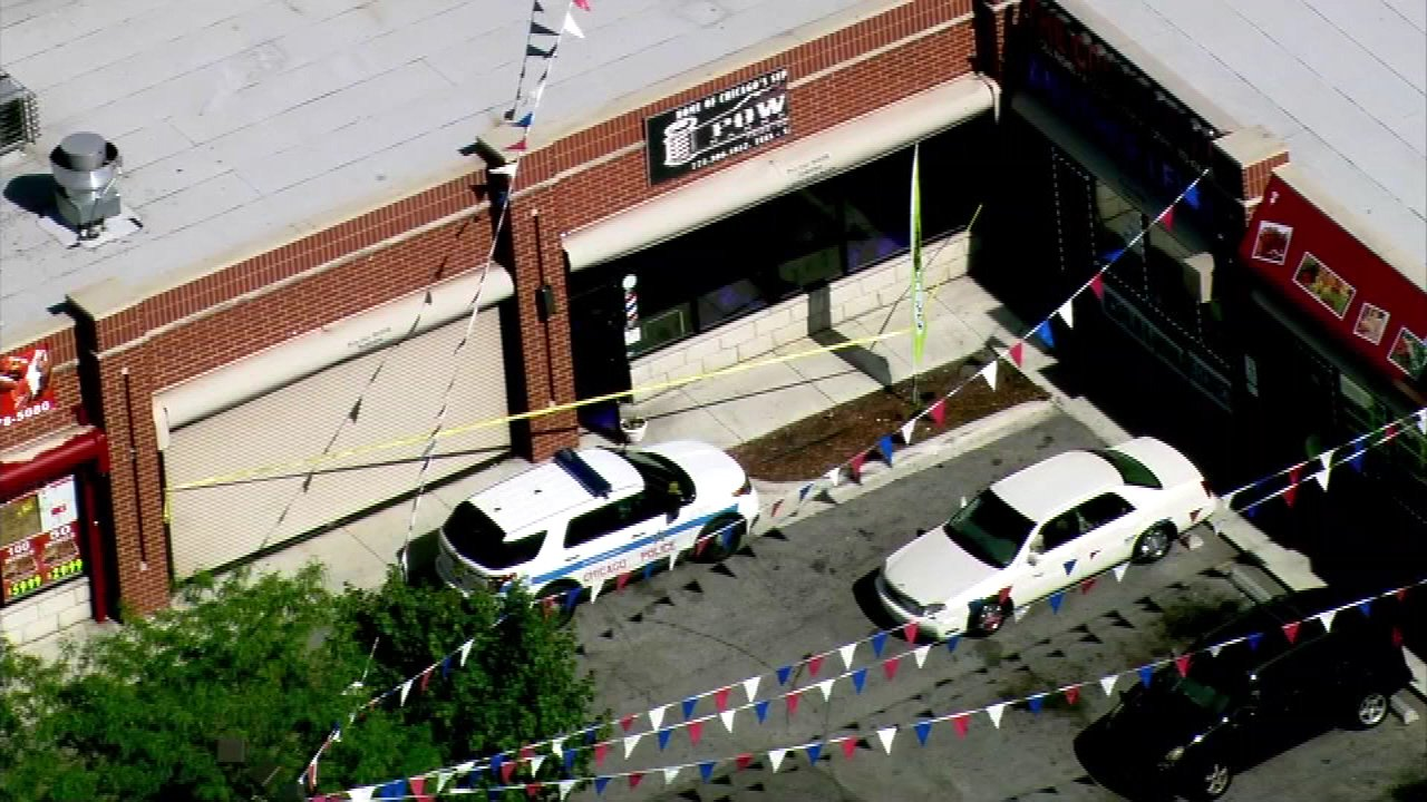 englewood barber shop shooting
