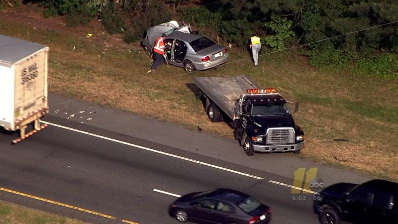 Deadly crash in I95 NB