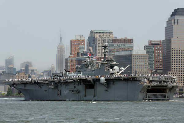 "<div class=""meta image-caption""><div class=""origin-logo origin-image none""><span>none</span></div><span class=""caption-text"">The USS Bataan,.from Norfolk, Va., sails up the Hudson River in New York, during Fleet Week, Wednesday, May 25, 2016. (AP Photo/Richard Drew)</span></div>"