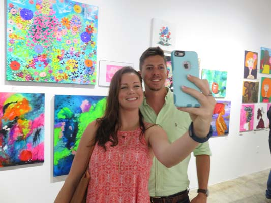 "<div class=""meta image-caption""><div class=""origin-logo origin-image none""><span>none</span></div><span class=""caption-text"">Guests Caitlyn and Andrew at Chocolate & Art Show in Houston</span></div>"