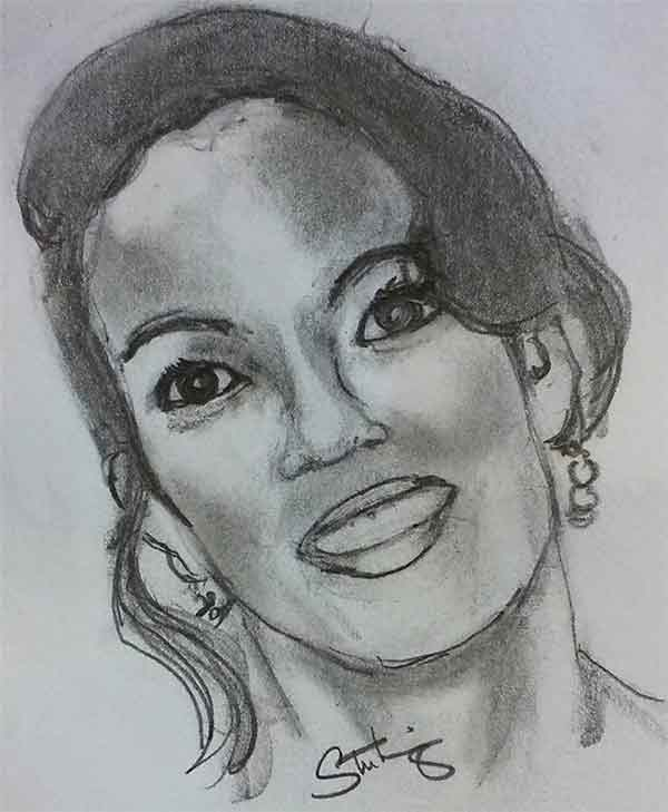 "<div class=""meta image-caption""><div class=""origin-logo origin-image wpvi""><span>WPVI</span></div><span class=""caption-text"">Viewer and artist, Sterling Gray, created this fabulous pencil sketch of Lisa.</span></div>"