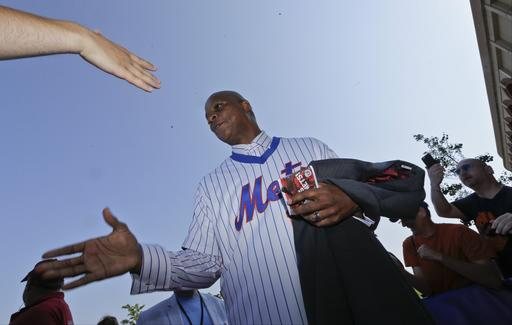 "<div class=""meta image-caption""><div class=""origin-logo origin-image ap""><span>AP</span></div><span class=""caption-text"">Former New York Mets player Darryl Strawberry greets fans before a baseball game. (AP)</span></div>"