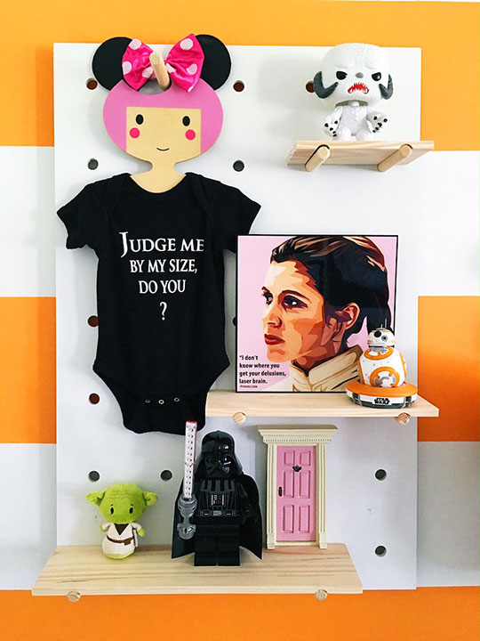 Mom creates jaw-dropping 'Star Wars' nursery for her baby
