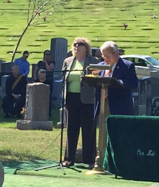 "<div class=""meta image-caption""><div class=""origin-logo origin-image none""><span>none</span></div><span class=""caption-text"">Japanese American Memorial Day service at Oak Hill Cemetery in San Jose, California, Monday, May 30, 2016. (KGO-TV)</span></div>"