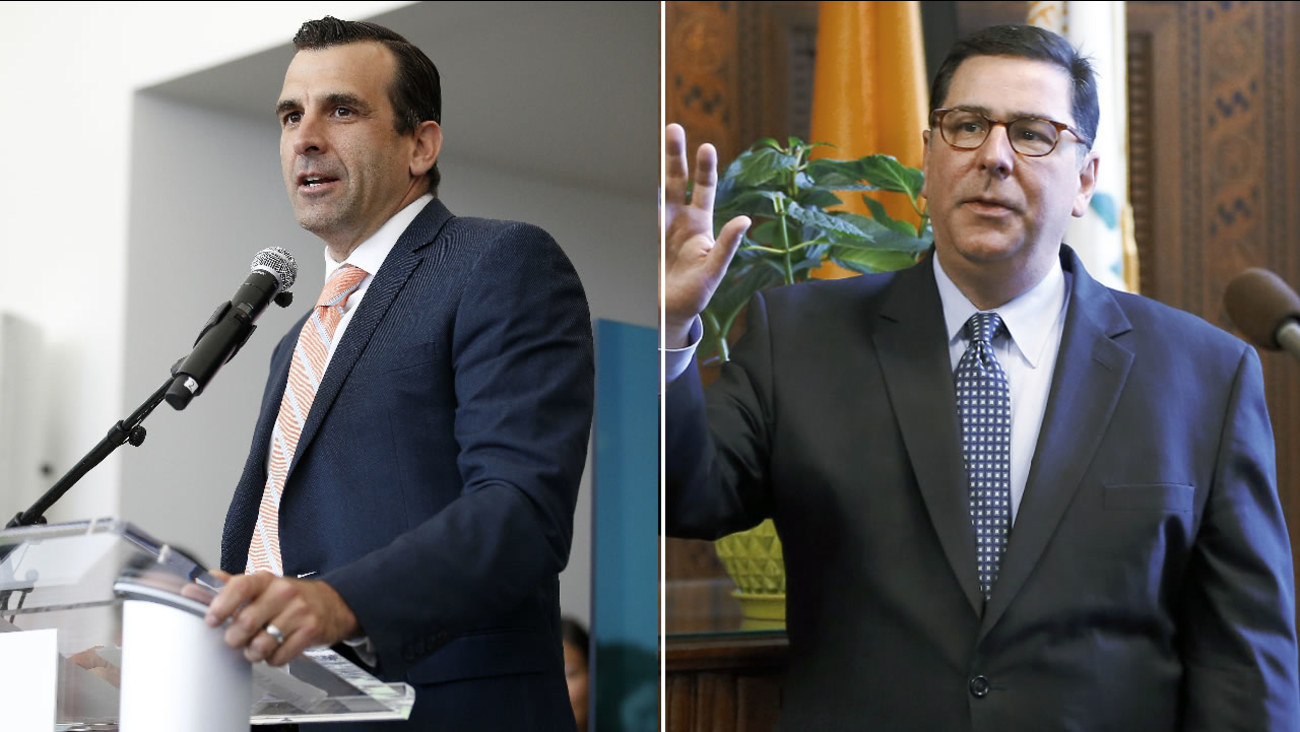 San Jose Mayor Sam Liccardo made a friendly wager with Pittsburgh Mayor William Peduto ahead of the Stanley Cup Final on Monday, May 30, 2016.