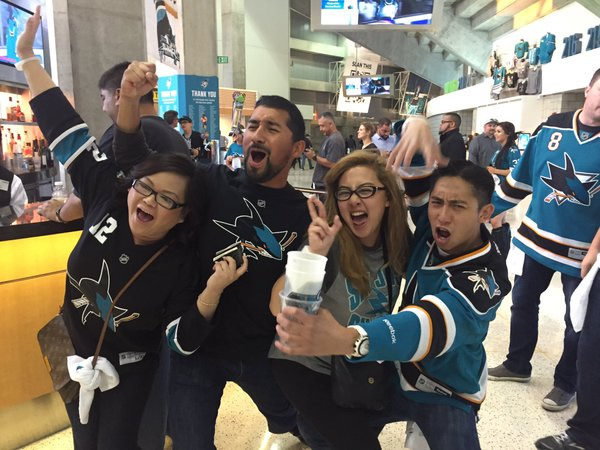 "<div class=""meta image-caption""><div class=""origin-logo origin-image none""><span>none</span></div><span class=""caption-text"">San Jose Sharks fans in San Jose, Calif., after Game 6 against the St. Louis Blue on Wednesday, May 25, 2016. (KGO-TV)</span></div>"