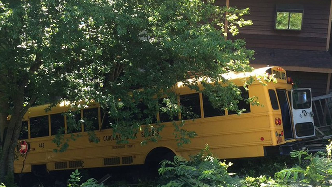 Charlotte school bus crash
