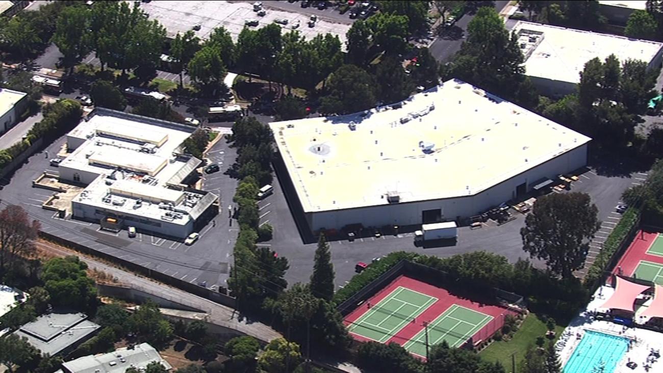 Hazmat situation in Palo Alto, California, Tuesday, May 31, 2016.