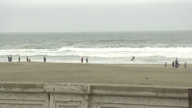 Ocean Beach Lifeguards Warn Of Dangerous Surf As Weather Heats Up Abc7 San Francisco Ocean beach weather forecast issued today at 8. abc7 news