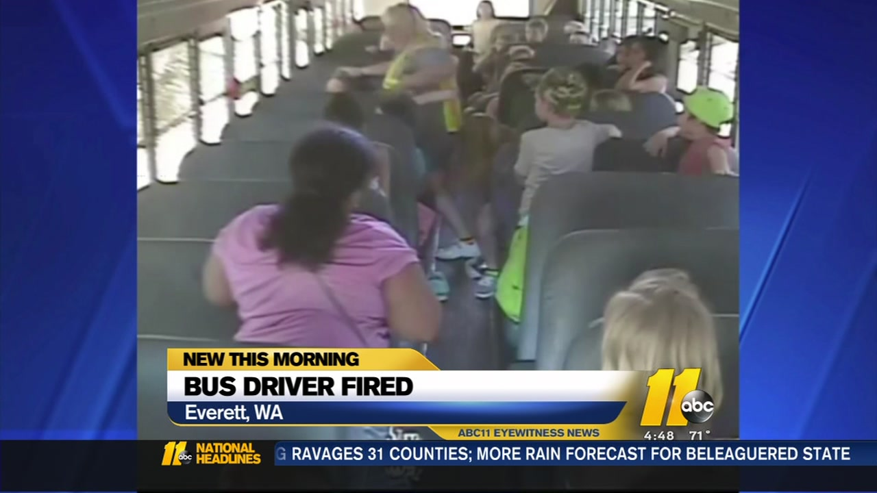 School Bus Driver Fired After Refusing To Open Windows On Hot Day  Abc11Com-9371