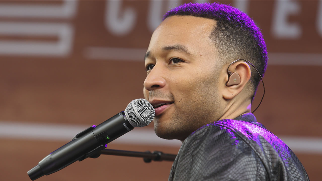John Legend performs at the Belmont during the South by Southwest Music Festival on Thursday, March 17, 2016, in Austin, Texas.