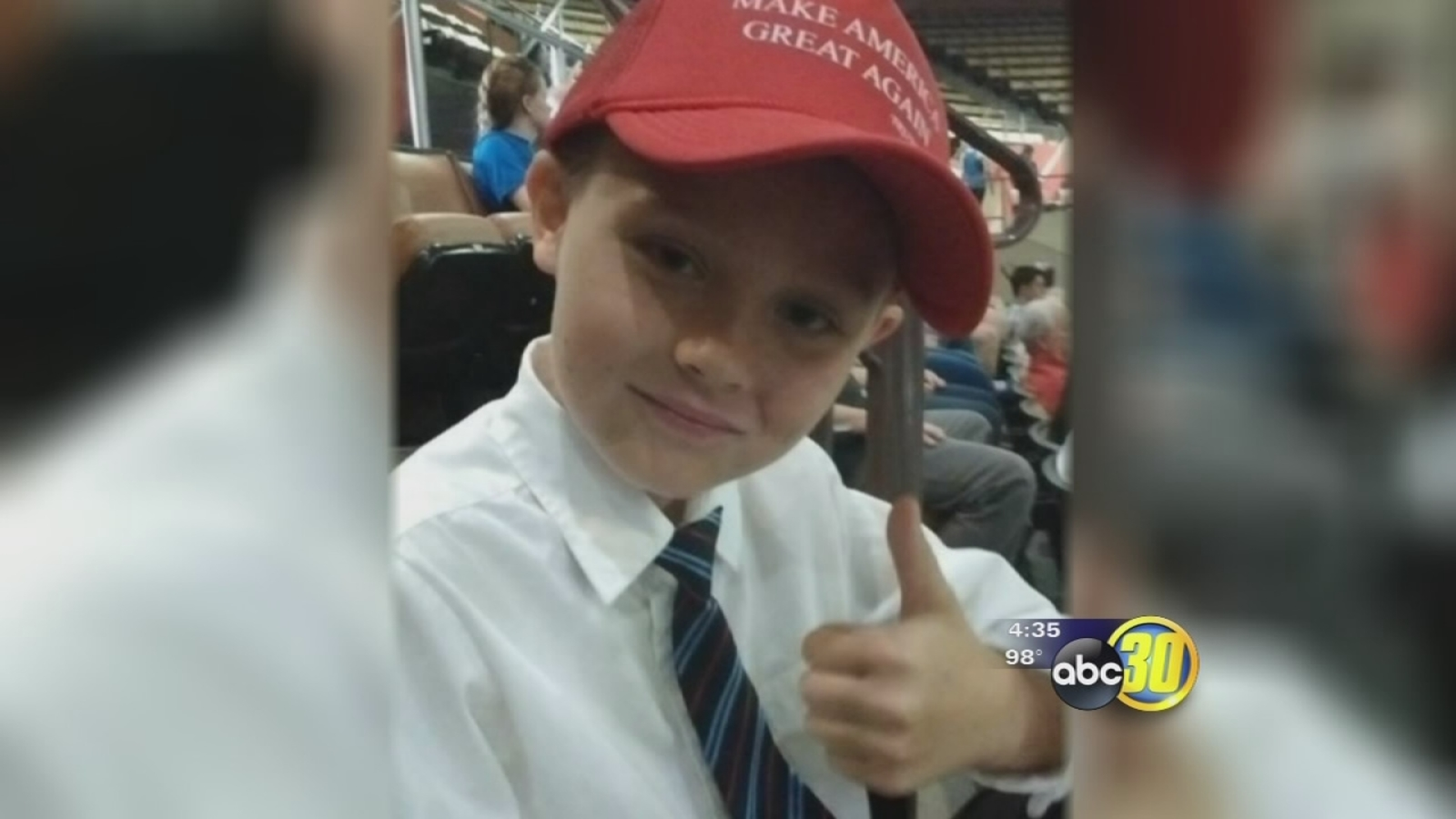 3bf0e8f6e5799 9-year-old banned from  Making America Great Again