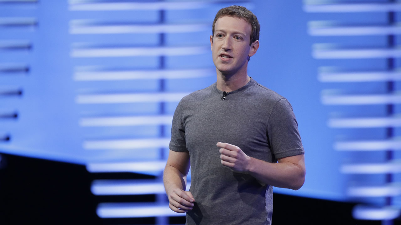 In this April 12, 2016, file photo, Facebook CEO Mark Zuckerberg speaks during the keynote address at the F8 Facebook Developer Conference in San Francisco.