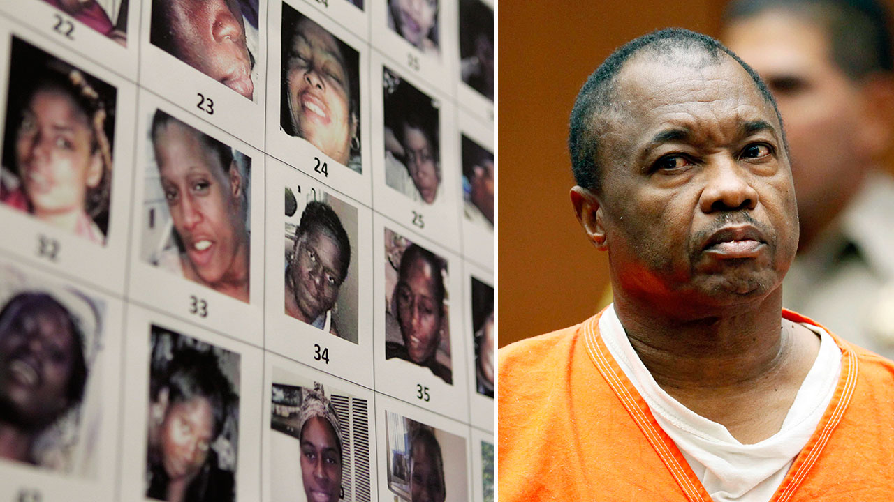 Lonnie David Franklin Jr., also known as the 'Grim Sleeper,' appears in Los Angeles Superior Court.