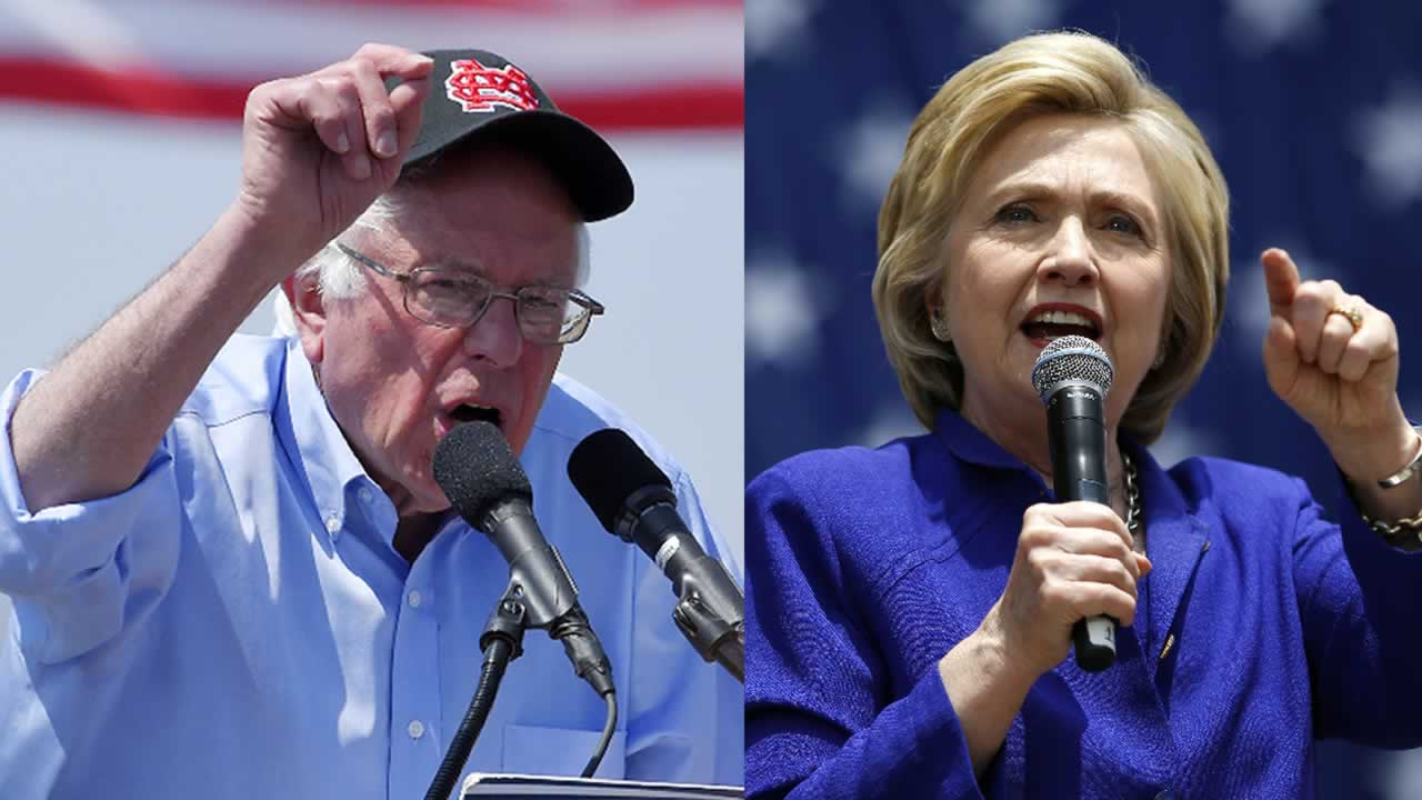Hillary Clinton and Bernie Sanders are getting as many people to the polls as possible on Tuesday, June 7, 2016.
