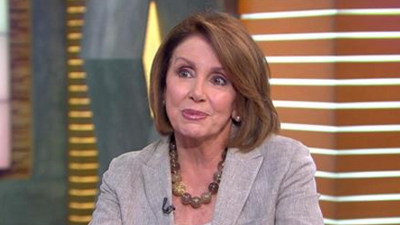 House Minority Leader Nancy Pelosi on 'Good Morning America,' Tuesday, June 7, 2016.
