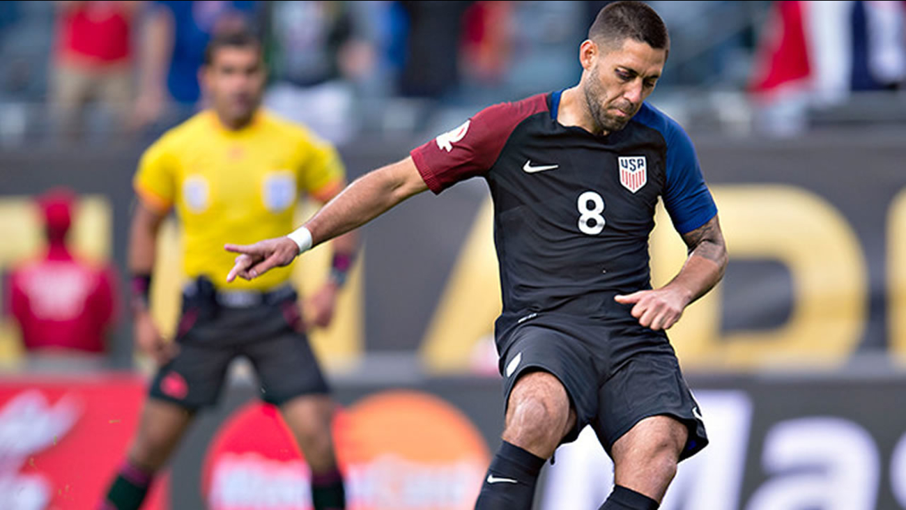 Clint Demspey (pictured) was a standout performer in the USA's Copa America Centenario win over Costa Rica on June 7, 2016, in Chicago. (Photo: Mexsport)