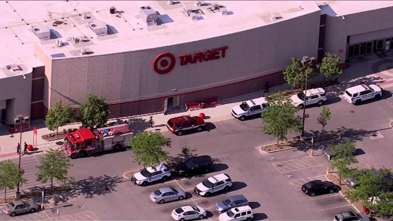 The Target store on Howard Street in north suburban Evanston.