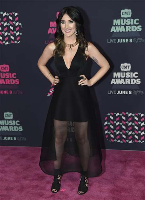 "<div class=""meta image-caption""><div class=""origin-logo origin-image none""><span>none</span></div><span class=""caption-text"">Aubrie Sellers arrives at the CMT Music Awards at the Bridgestone Arena on Wednesday, June 8, 2016, in Nashville, Tenn. (Sanford Myers/Invision/AP)</span></div>"