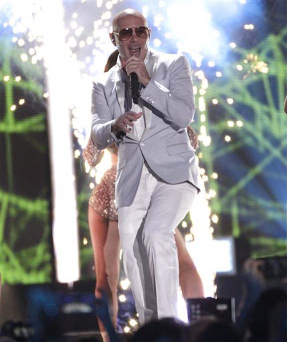 "<div class=""meta image-caption""><div class=""origin-logo origin-image none""><span>none</span></div><span class=""caption-text"">Pitbull performs ""Messin' Around"" at the CMT Music Awards at the Bridgestone Arena on Wednesday, June 8, 2016, in Nashville, Tenn. (Wade Payne/Invision/AP)</span></div>"