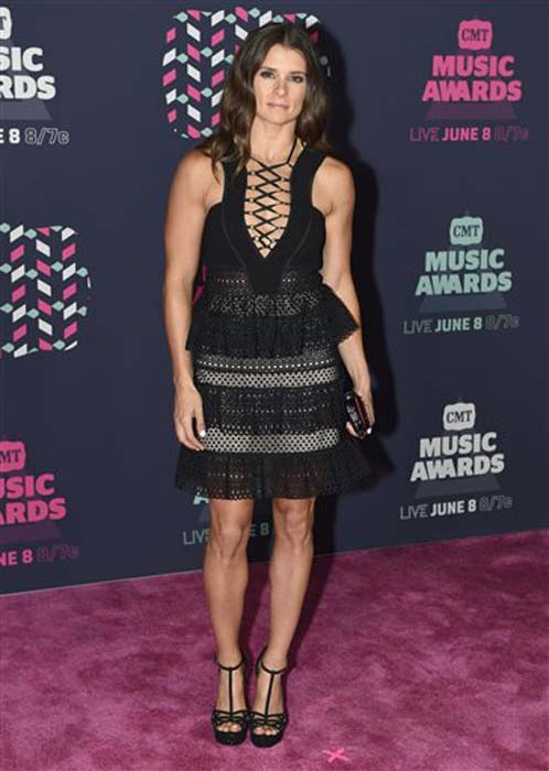 "<div class=""meta image-caption""><div class=""origin-logo origin-image none""><span>none</span></div><span class=""caption-text"">Danica Patrick arrives at the CMT Music Awards at the Bridgestone Arena on Wednesday, June 8, 2016, in Nashville, Tenn. (Sanford Myers/Invision/AP)</span></div>"