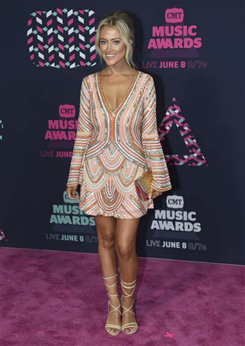"<div class=""meta image-caption""><div class=""origin-logo origin-image none""><span>none</span></div><span class=""caption-text"">Brooke Eden arrives at the CMT Music Awards at the Bridgestone Arena on Wednesday, June 8, 2016, in Nashville, Tenn. (Sanford Myers/Invision/AP)</span></div>"