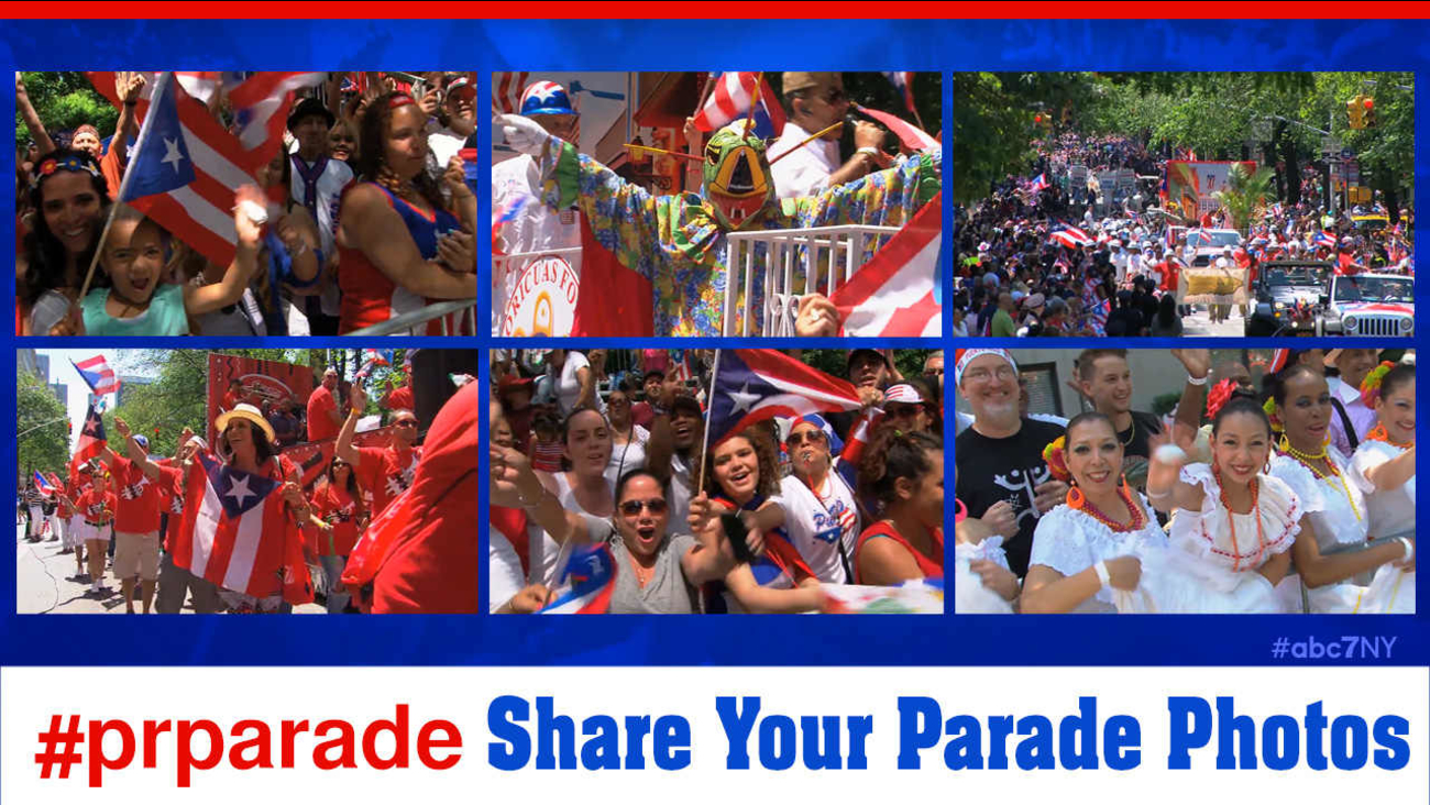 national puerto rican parade new york city photos
